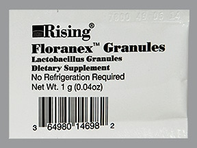 Floranex 100 million cell oral granules in packet