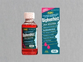 Diphenhist 12.5 mg/5 mL oral liquid
