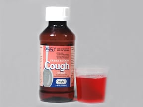 Cough Suppressant-Expectorant 10 mg-100 mg/5 mL syrup