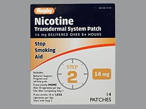 nicotine 14 mg/24 hr daily transdermal patch