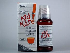 Kidkare Cough/Cold 1 mg-15 mg-5 mg/5 mL oral liquid