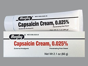 capsaicin 0.025 % topical cream