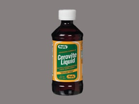 Cerovite 9 mg iron/15 mL oral liquid