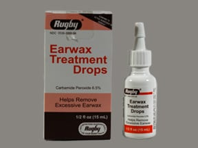 Ear Wax Treatment 6.5 % drops