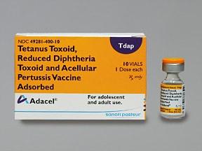 Adacel (Tdap Adolesn/Adult)(PF)2Lf-(2.5-5-3-5mcg)-5 Lf/0.5 mL IM susp