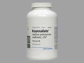 Kayexalate oral powder