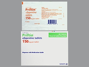Priftin 150 mg tablet