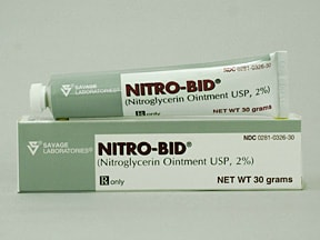 Nitro-Bid 2 % transdermal ointment