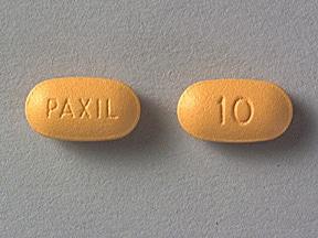 Paxil 10 mg tablet