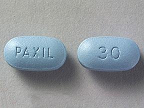 Paxil 30 mg tablet