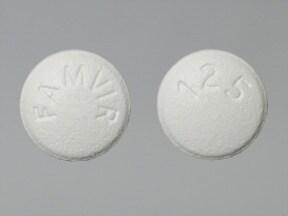 Famvir 125 mg tablet