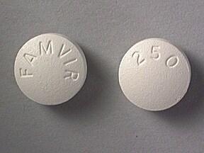 Famvir 250 mg tablet