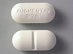 Augmentin 875 Mg-125 Mg Oral Tablet