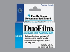 Duofilm 17 % topical liquid