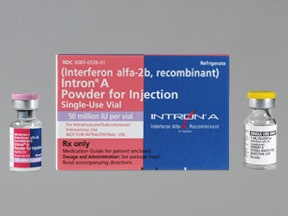 Intron A 50 million unit (1 mL) solution for injection