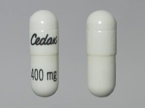 Cedax 400 mg capsule