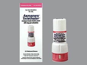 Asmanex Twisthaler 220 mcg (14 doses) breath activated