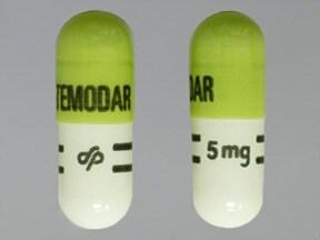 Temodar 5 mg capsule
