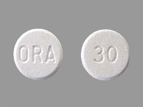 prednisolone 30 mg disintegrating tablet