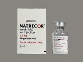 Natrecor 1.5 mg intravenous solution