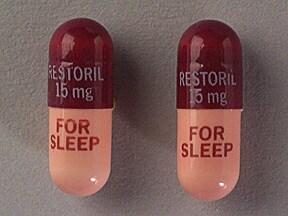 Restoril 15 mg capsule