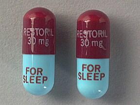 Restoril 30 mg capsule