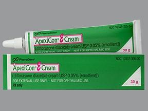 ApexiCon E 0.05 % topical cream