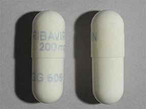 ribavirin 200 mg capsule