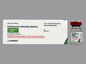 cisatracurium 2 mg/mL intravenous solution