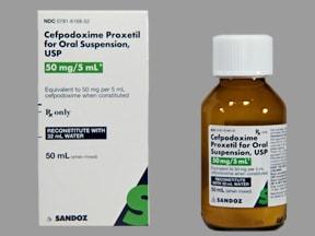 cefpodoxime 50 mg/5 mL oral suspension