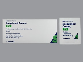 imiquimod 5 % topical cream packet