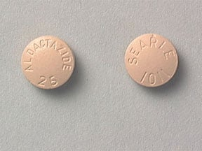 Aldactazide 25 mg-25 mg tablet