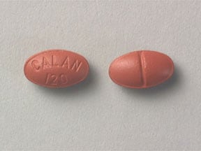Calan 120 mg tablet