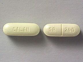 Calan SR 240 mg tablet,extended release