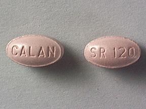 Calan SR 120 mg tablet,extended release