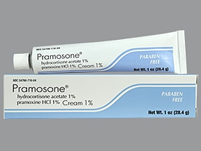 Pramosone 1 %-1 % topical cream