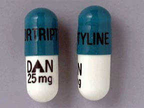 nortriptyline 25 mg capsule