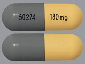 Verelan 180 mg capsule,extended release