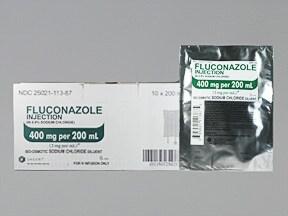 fluconazole 400 mg/200 mL in sod. chloride(iso) intravenous piggyback