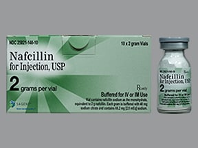 Nafcillin Injection : Uses, Side Effects, Interactions