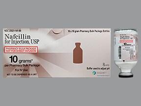 nafcillin 10 gram solution for injection