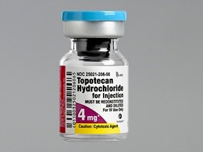 topotecan 4 mg intravenous solution