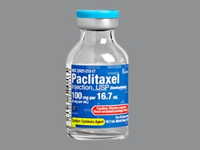 paclitaxel 6 mg/mL concentrate,intravenous