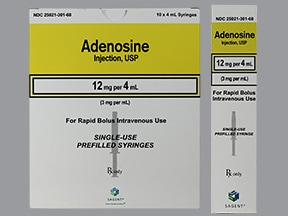 adenosine 3 mg/mL intravenous syringe
