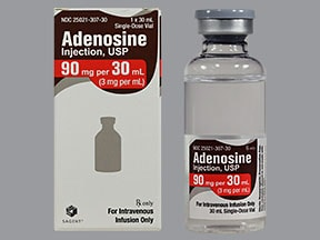 adenosine (diagnostic) 3 mg/mL intravenous solution