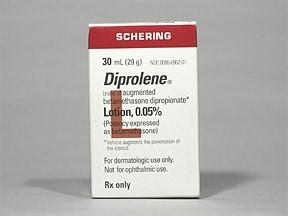 Diprolene 0.05 % lotion