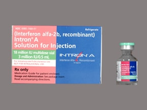 Intron A 6 million unit/mL injection solution