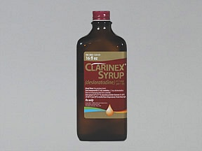 Clarinex 2.5 mg/5 mL (0.5 mg/mL) syrup