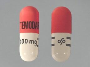 Temodar 100 mg capsule