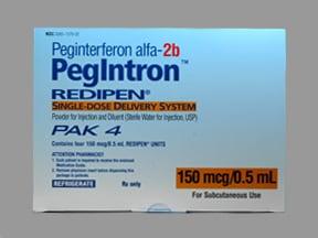 PegIntron Redipen 150 mcg/0.5 mL subcutaneous kit